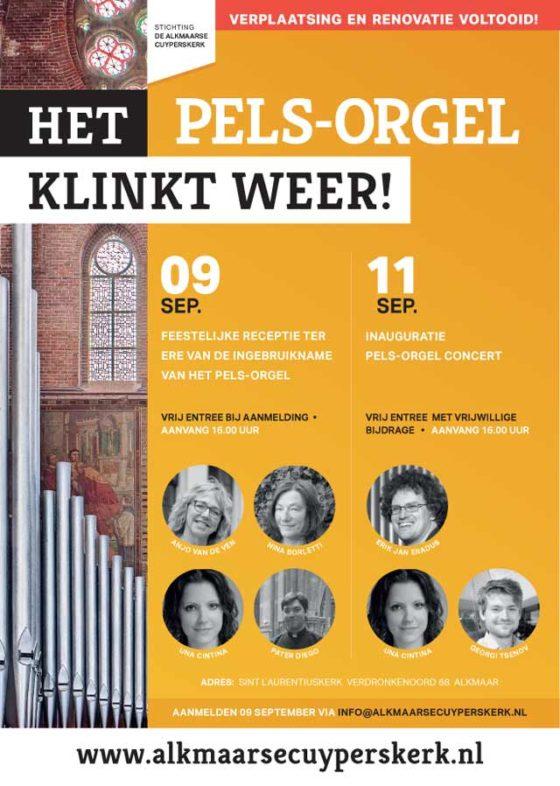 Pels Orgel Alkmaar